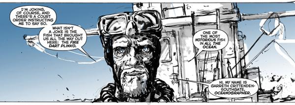 Image from Cowboy Ninja Viking from Image Comics