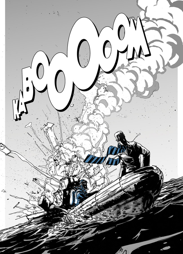 Image from Cowboy Ninja Viking From Image Comics 7