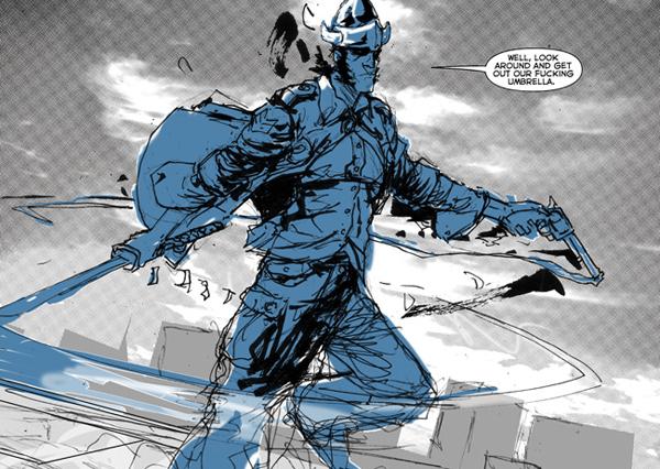 Image from Cowboy Ninja Viking From Image Comics 3