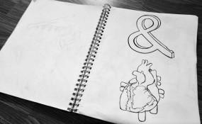 Sketches from Canadian artist Meghan Clarktson's sketchbook
