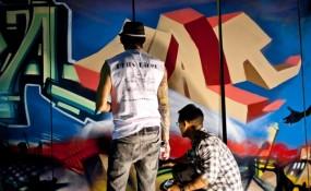 LA vs WAR art and cultural event in memory of 9/11, 2001
