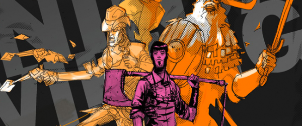 {INTERVIEW} Cowboys, Ninjas, Vikings & Riley Rossmo