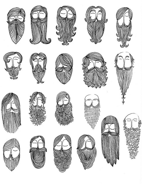 beard chart graphic design (2)