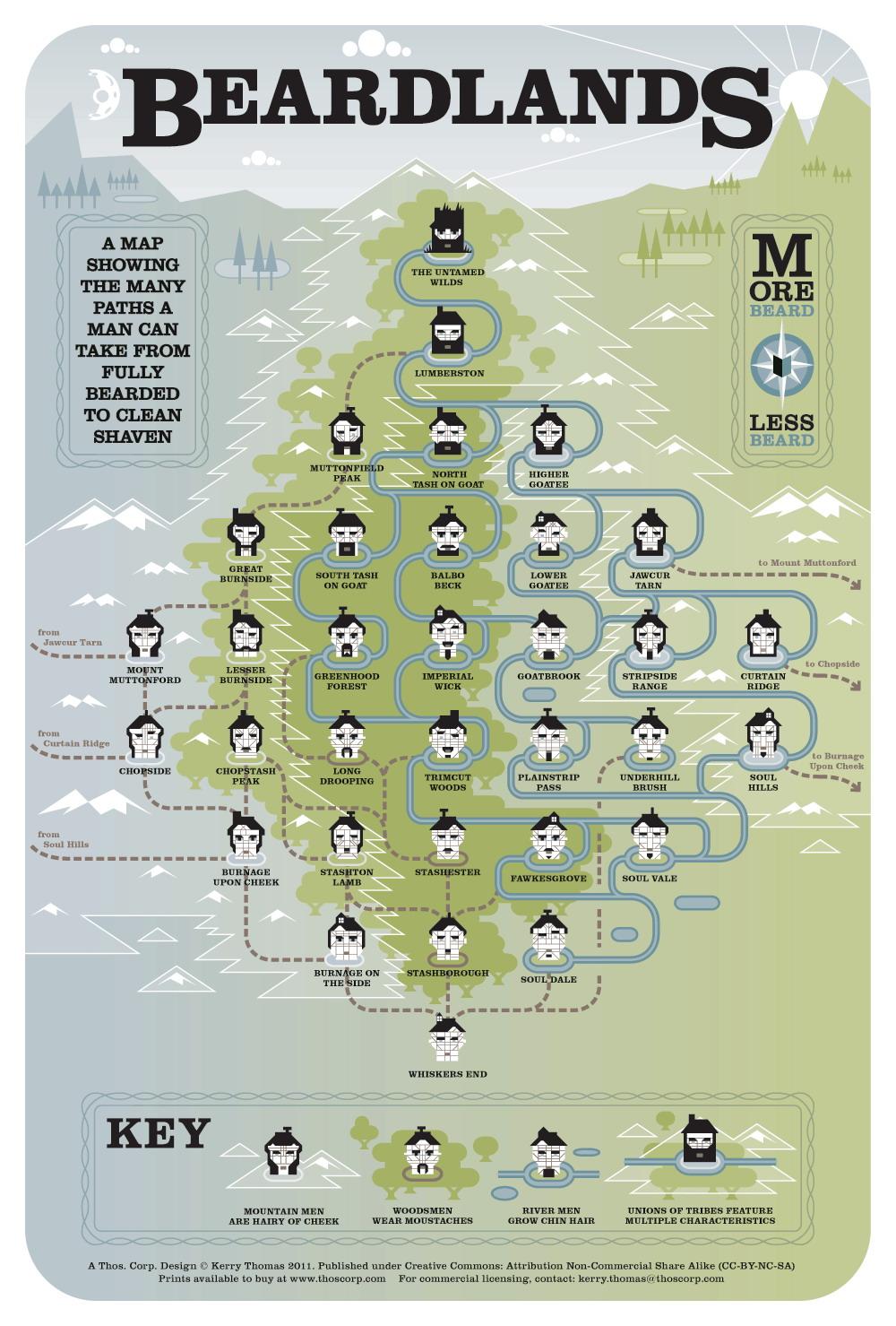 beard chart graphic design (4)