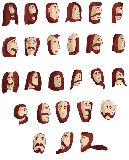beard chart graphic design (6)
