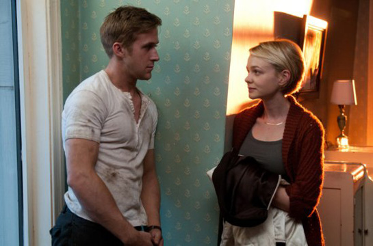 film still Gosling in the movie Drive