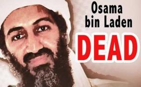 Osama bin Laden DEAD poster