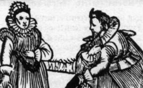 17th century Elizabethan age illustration