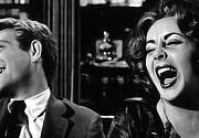 Screenshot from 1966 movie Who's Afraid of Virginia Woolf? Elizabeth Taylor