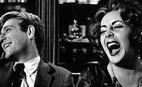 Screenshot from 1966 movie Who's Afraid of Virginia Woolf? Elizabeth Taylor