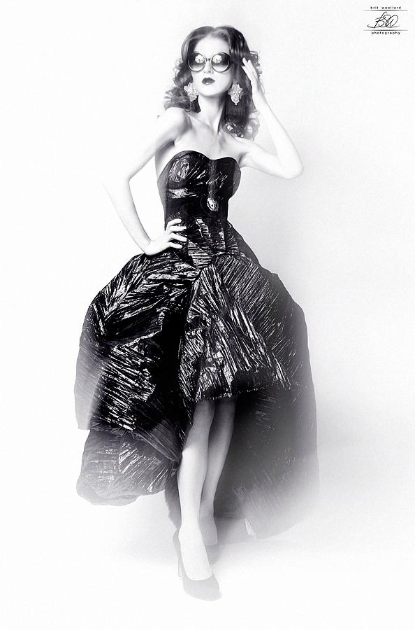 Photography featuring female model by Chicago artist Brit Woolard