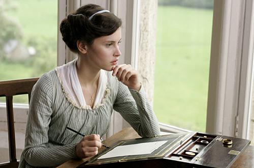 Catherine Morland as Jane Austen