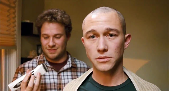 still from the film 50/50 with Jordan Gordon Levitt and Seth Rogan