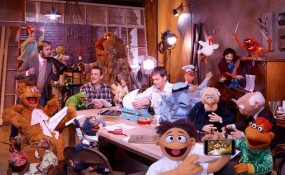 Scene from The Muppets movie 2011