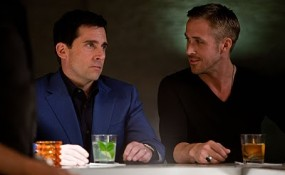 still from Crazy Stpid Love, featuring Steve Carrel and Ryan Gosling