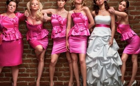 promo shot for the film Bridesmaids