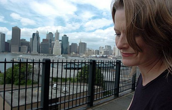 a photograph of welcome to the goon squad author jennifer egan in new york city