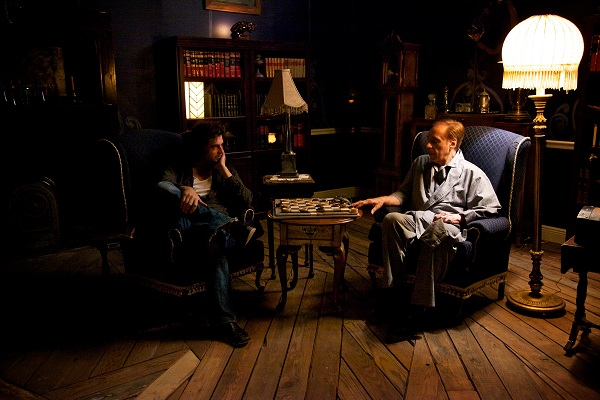 image movie still from the Tell-Tale heart by Tier based on the work of Poe