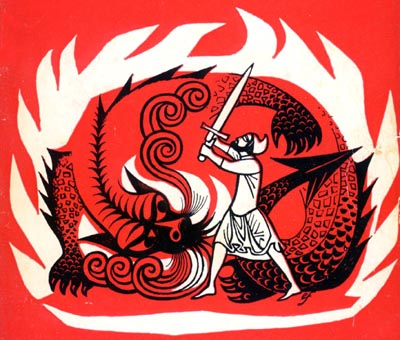 Eric Fraser beowulf and the dragon