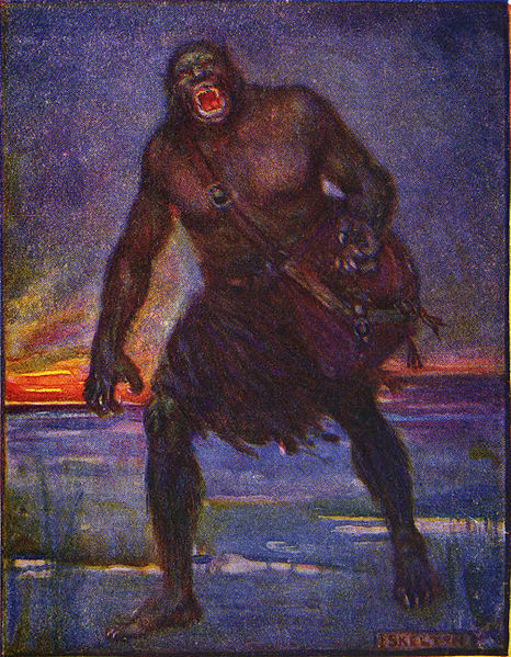 Grendel by J.R. Skleton
