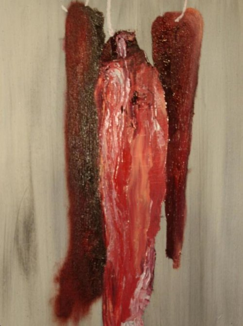 "Karen Grosman's ""Meat Collection"" painting is depiction of women"