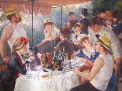 """Luncheon of the Boating Party"" by Pierre-August Renoir (1881)"