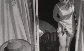 Looking Back on Cindy Sherman art featuring a woman