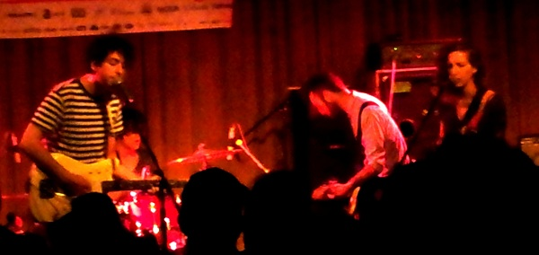 Toronto dreampop band Beliefs playing The Drake Hotel in Toronto during NXNE