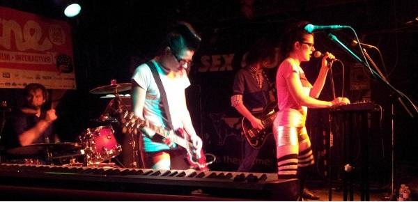 Ottawa band SILVERGUN & SPLEEN playing the bovine sex club for nxne