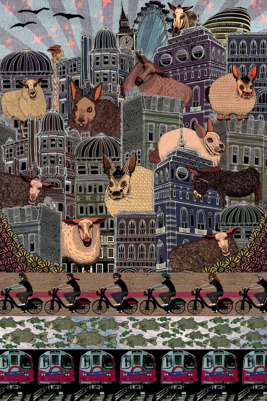 Rebecca Hendin prints graphics