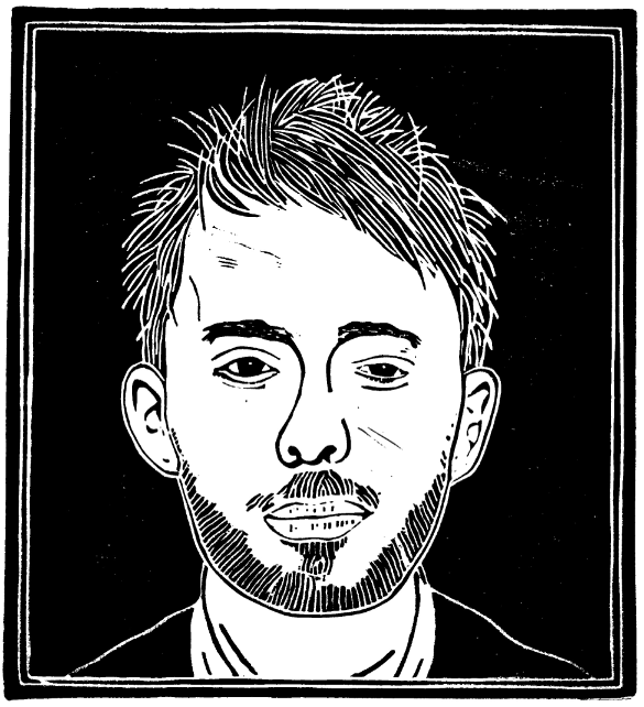 Thom Yorke from a little band called Radiohead...