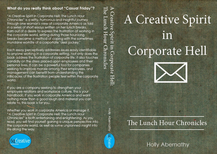 creative spirit in corporate hell - book cover