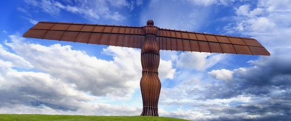 Gateshead Angel Installation
