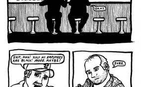 Texan writer Ryan Sheffield's SLUMLORD Comic