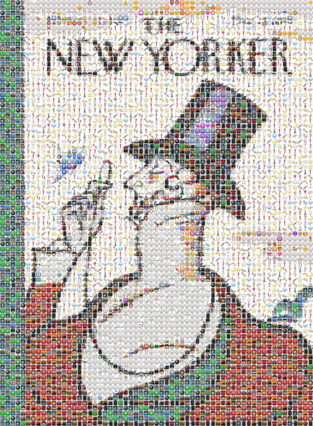 Fred Benenson's Emoji cover of The New Yorker