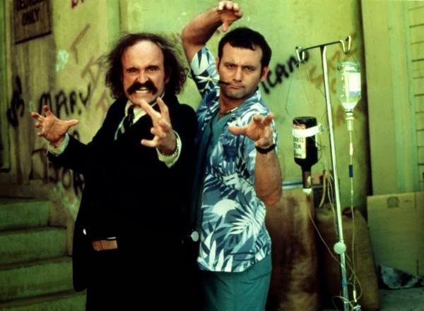 WHERE THE BUFFALO ROAM, Peter Boyle, Bill Murray, 1980