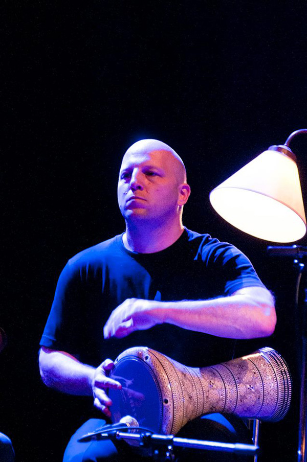 Tim Gerwing performing with Haram at the Vancouver International Jazz Festival